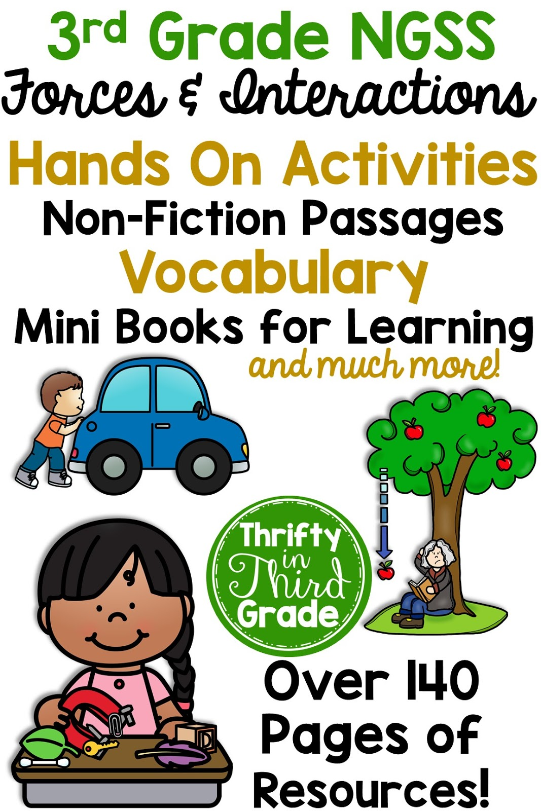 3rd Grade Forces And Interactions Ngss