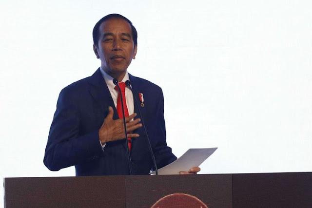 Soal Cawapres, Jokowi: Hanya Saya Yang Tahu