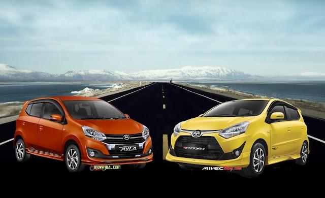 New Toyota Agya dan New Daihatsu Ayla Hadir dengan Fitur, Mesin dan Harga Baru