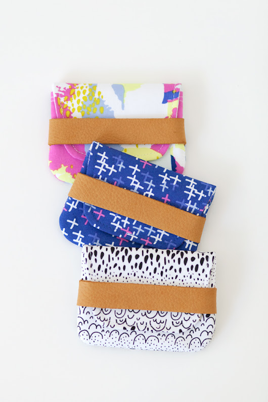 DIY Card Wallets | Michelle Patterns