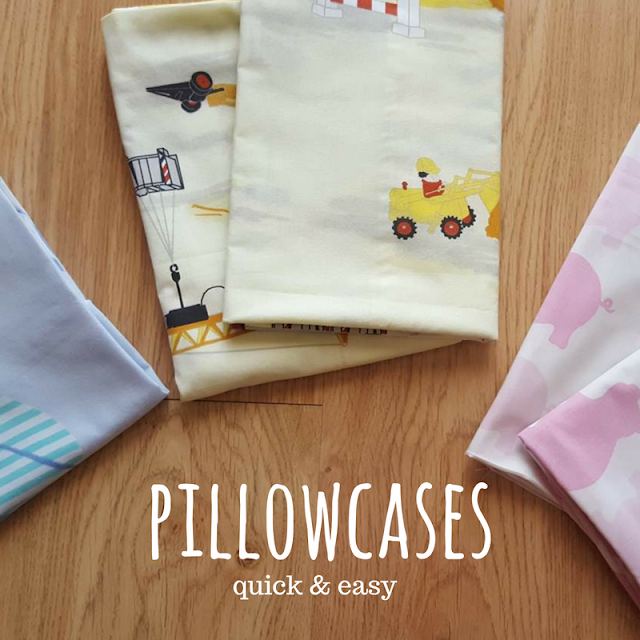 Pillowcases - quick & easy