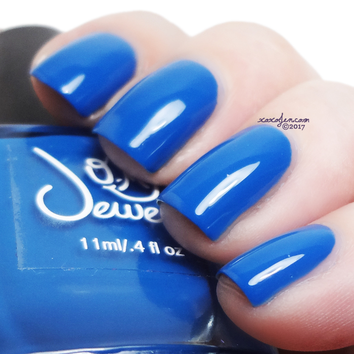 xoxoJen's swatch of O My Jewels Blue Heron