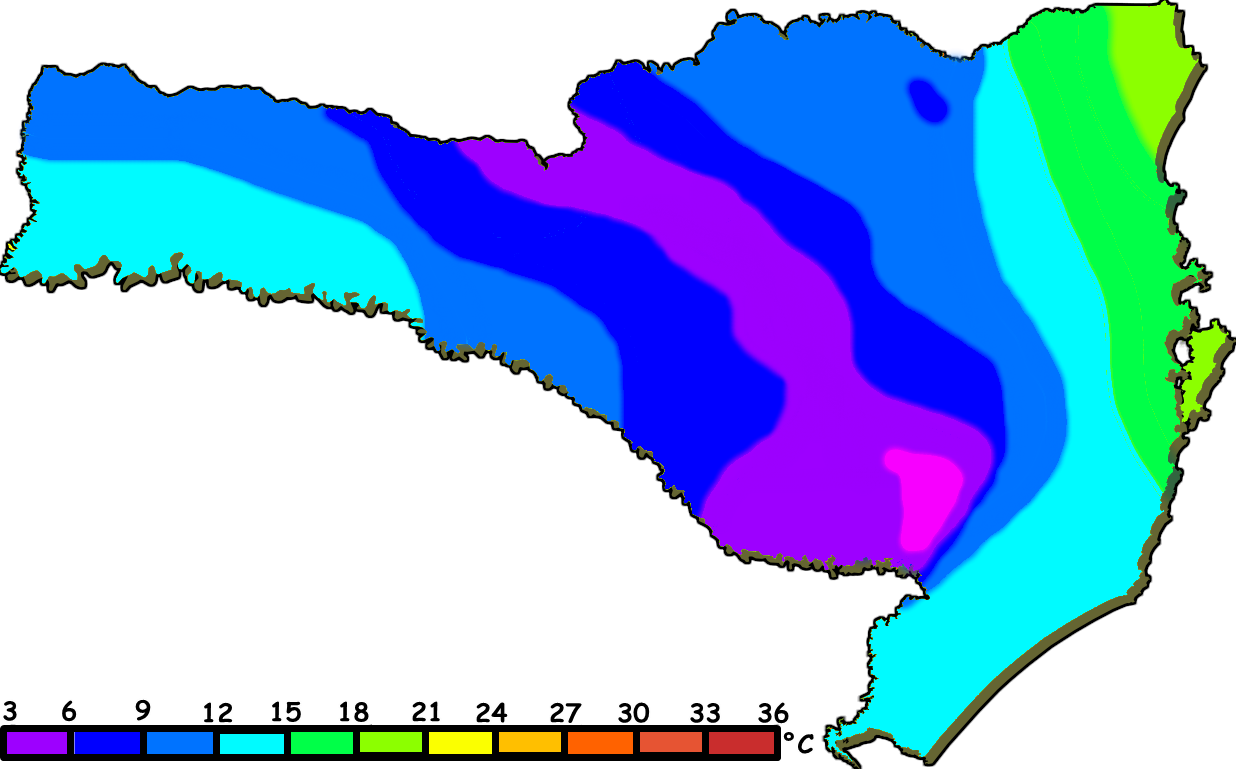 PREVISÃO DO TEMPO SANTA CATARINA: Previsão do tempo ...