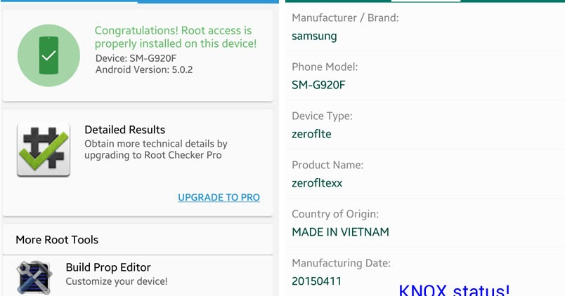 How to Safely Root Galaxy S6 & S6 Edge without tripping KNOX