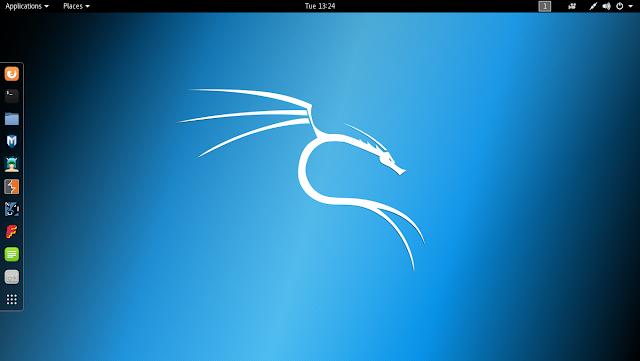 Kali Linux Desktop Image