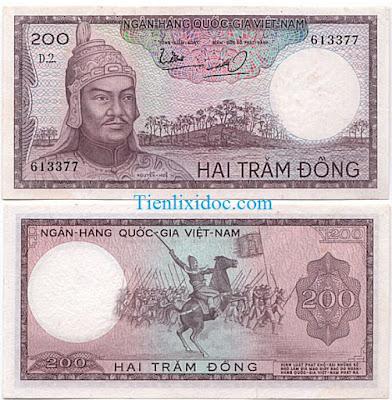 200 đồng việt nam cộng hòa 1966