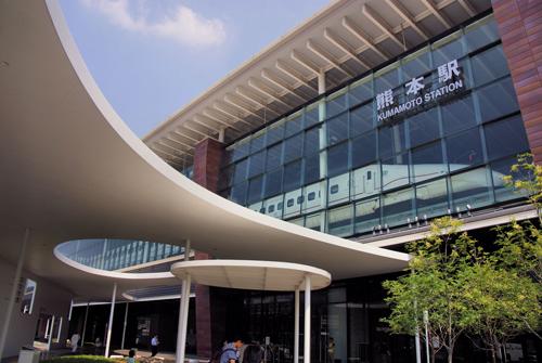 Kumamoto JR Station, Kyushu, Japan
