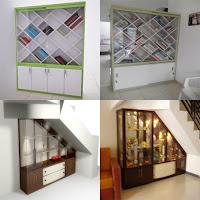 Contoh Desain Rak Buku - Furniture Semarang
