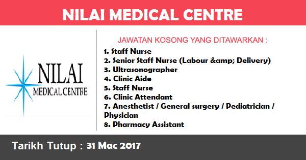 Jawatan Kosong di Nilai Medical Centre