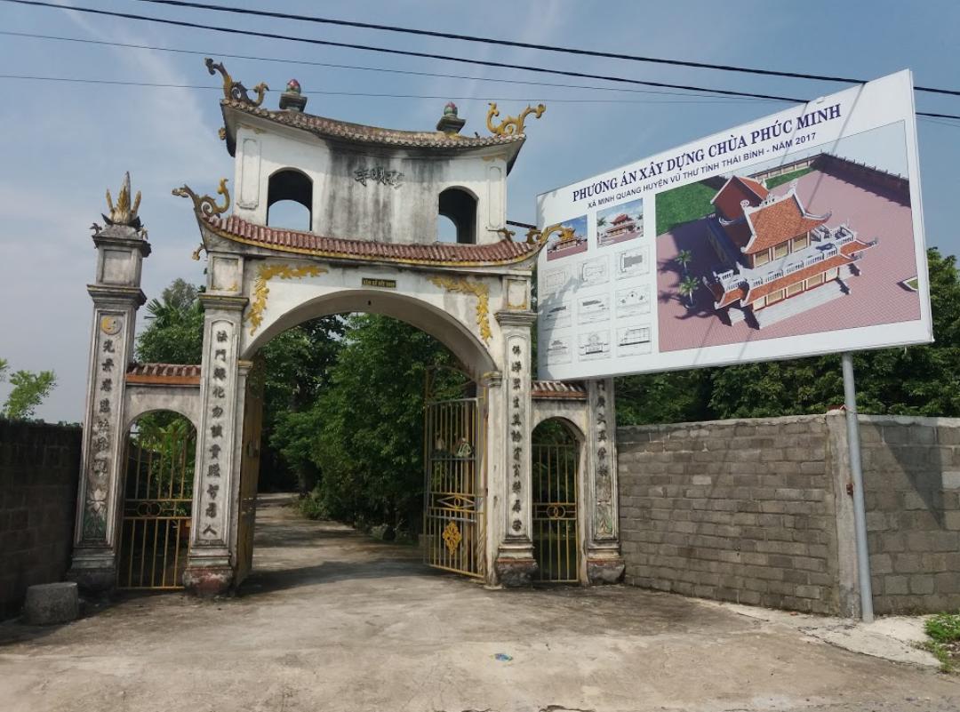 Chùa Phúc Minh - Minh Quang, Vũ Thư, Thái Bình, Việt Nam