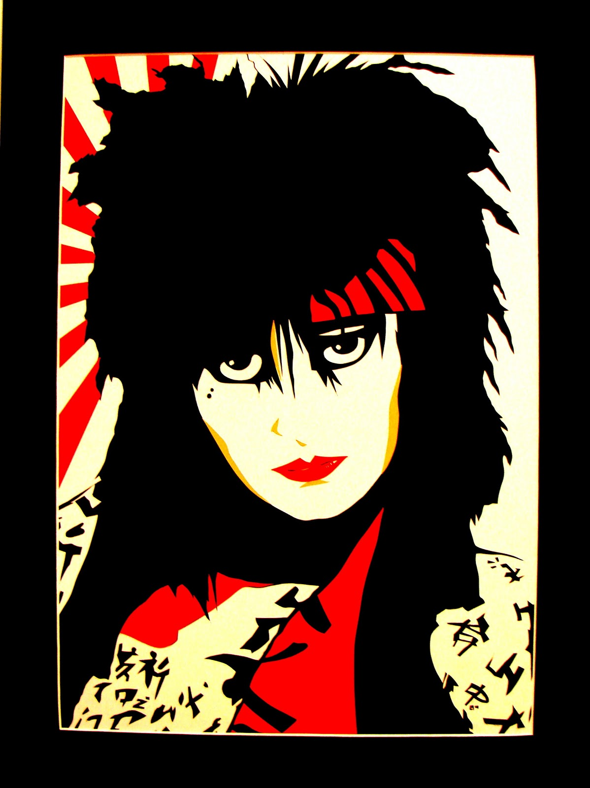 Black Acrylic A Gallery Of Siouxsie Sioux Fan Art