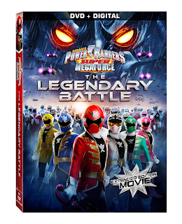 DVD Review - Power Rangers Super Megaforce: The Legendary Battle