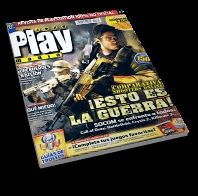 Revista Playmanía Mayo 2011