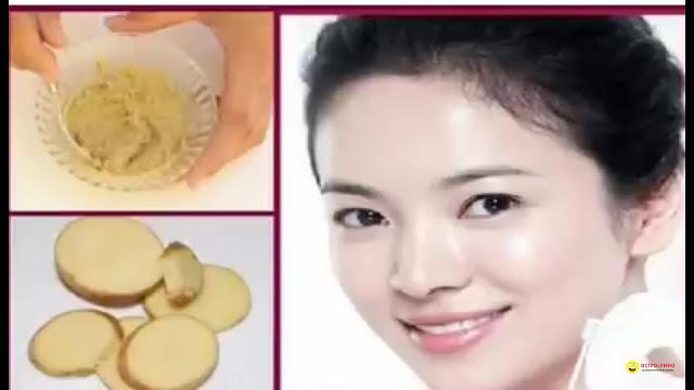 Masker kentang untuk pemutih kulit