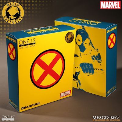 San Diego Comic-Con 2017 Exclusive Deadool X-Men Edition One:12 Collective Marvel Action Figure by Mezco Toyz
