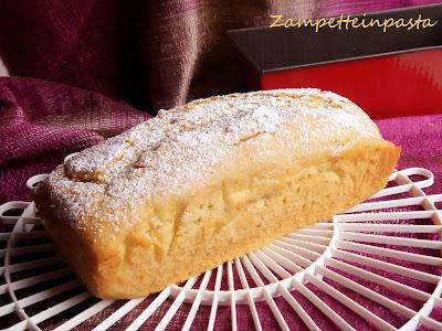 Plumcake all'arancia senza uova e senza latticini - Dolce senza uova