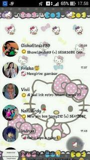 BBM Mod BBM Hello Kitty Pita V2.12.0.11 Apk Terbaru