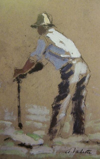 Vineyard  Worker  Tutt Art