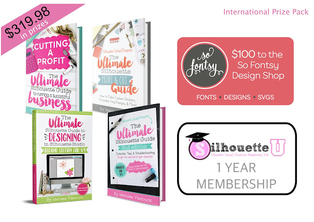 silhouette giveaway, silhouette school blog, silhouette cameo giveaway, silhouette studio, silhouettestudio