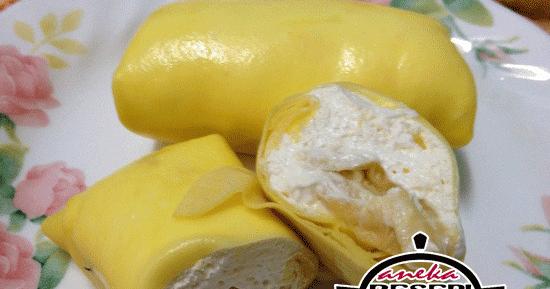 resepi durian crepe surasmi Resepi Kek Lapis Kukus Durian Enak dan Mudah