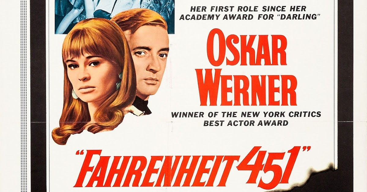 Obscure Video And DVD Blog: FAHRENHEIT 451 1966 (UNIVERSAL