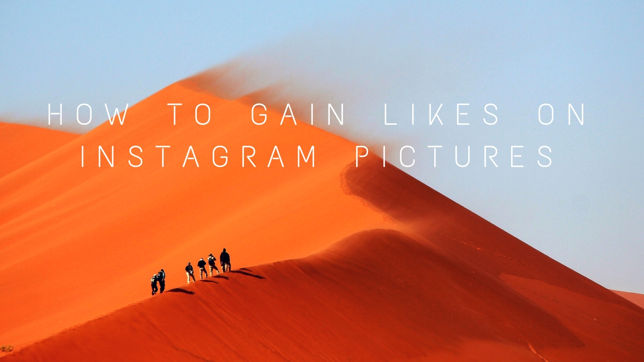 Gain Likes On Instagram Pictures