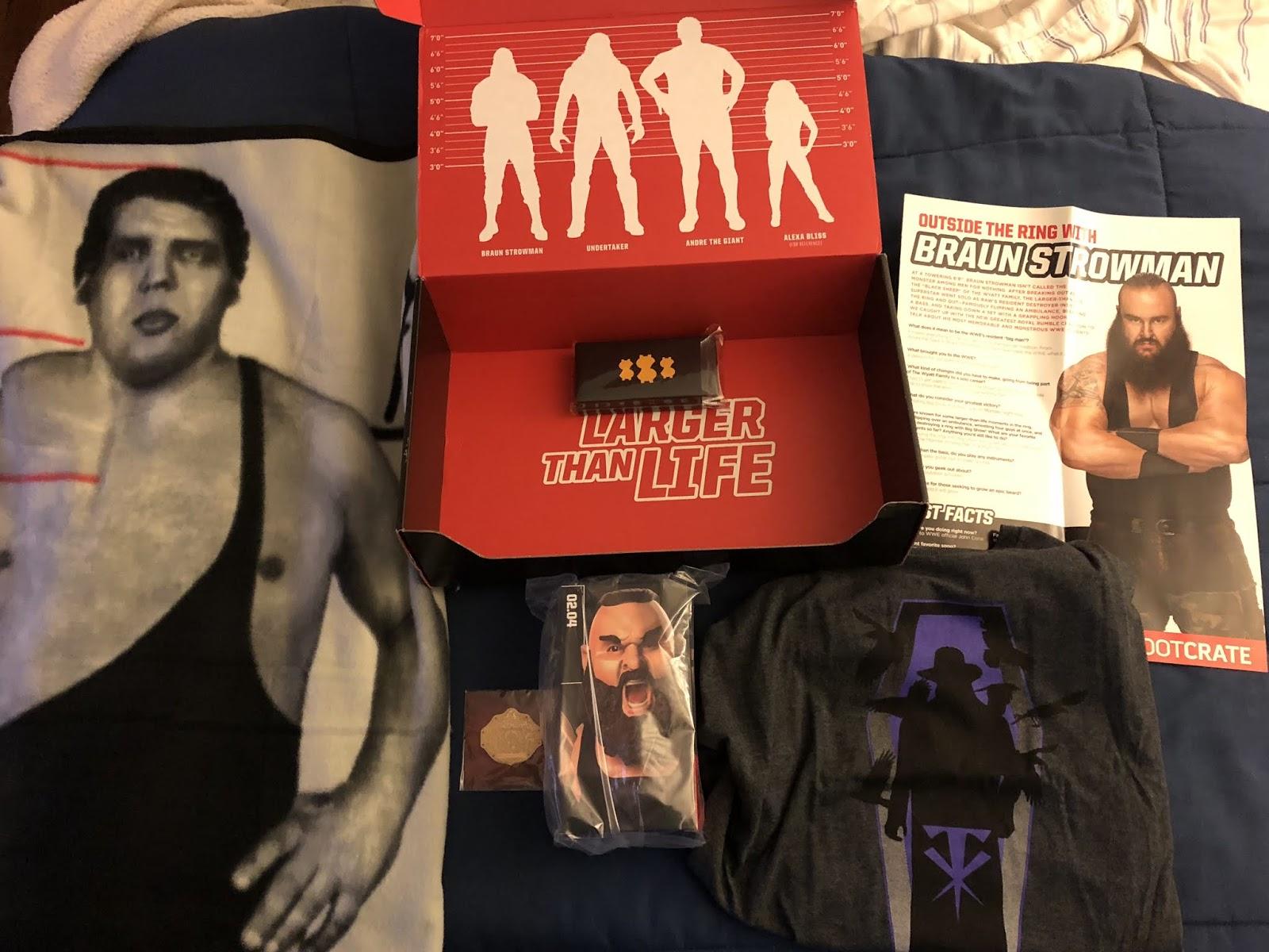92e62d3413ba One Man Renegade Podcast  WWE Slam Crate July 2018