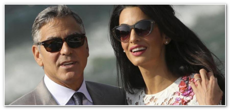 هل ينوي جورج كلوني الانفصال عن زوجته اللبنانية أمل علم الدين؟