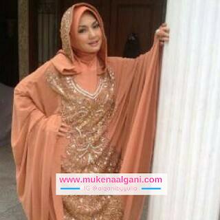mukena%2Bnathania%2Bmerak12 Koleksi Mukena Al Ghani Terbaru Original