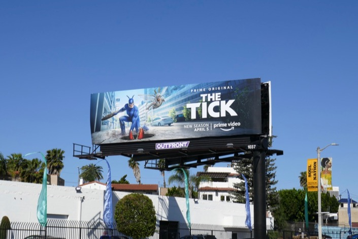 Tick season 2 billboard