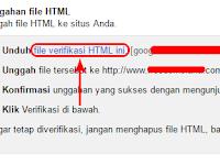 Cara Upload File Verifikasi Webmaster ke Wordpress Self Hosted