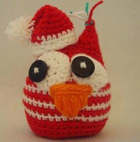 http://amigurumilacion.blogspot.com.es/search/label/Buho%20amigurumi%20buho%20navidad