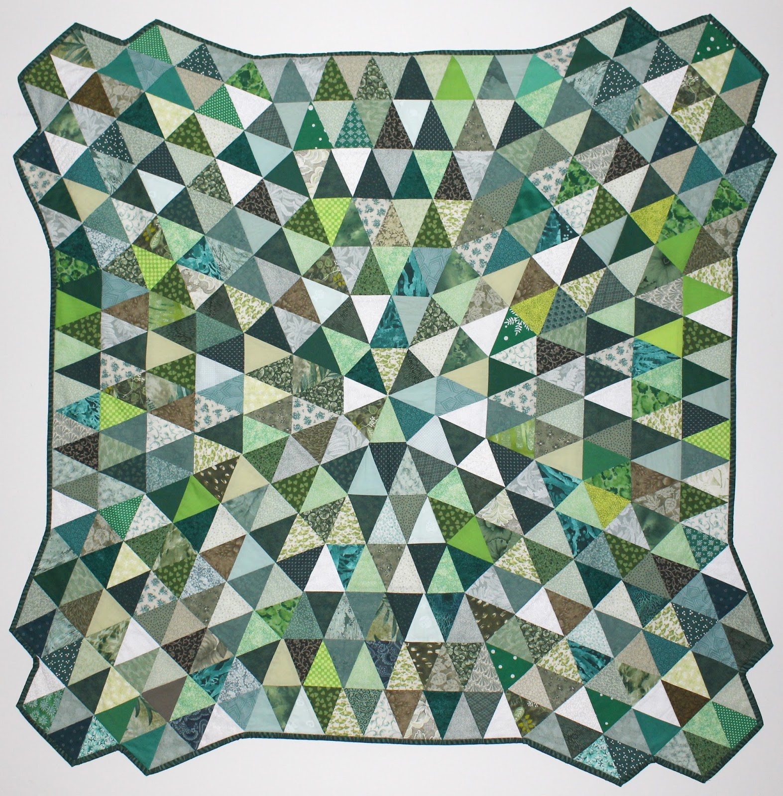 day quilt gallery green beach fraternal twins sewing jpg