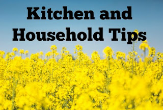 Kitchen and Household tips