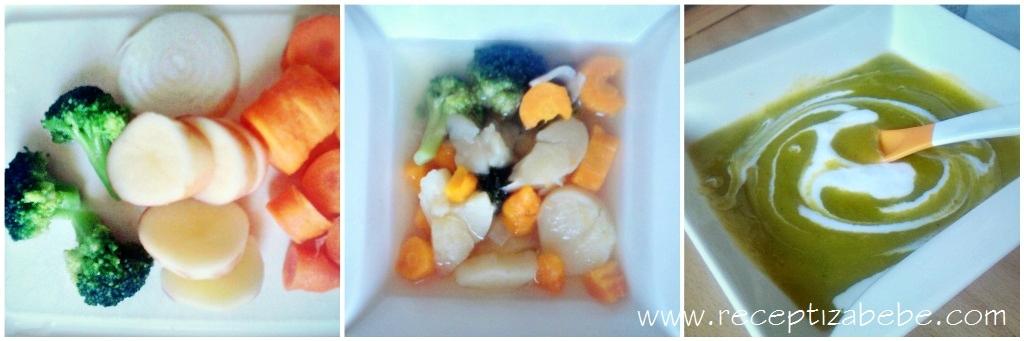Brokula krompir mrkva za bebe