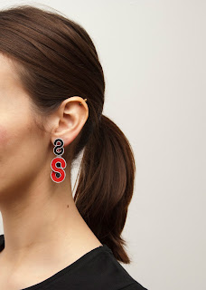 statement-stud-earrings-red-black-soutache