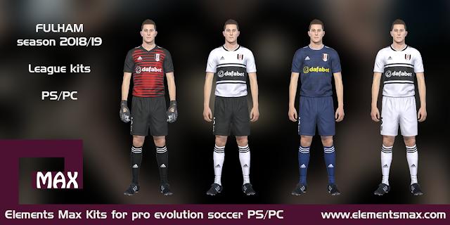 Fulham PES Kits 2018/19