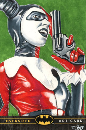 Tim Shay Oversized Art Harley Quinn card