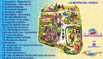 Mappa Gulliverlandia