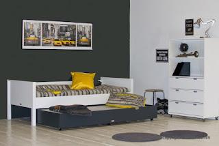 KidsGIGANT.nl: Kinderkamer in geel en grijs