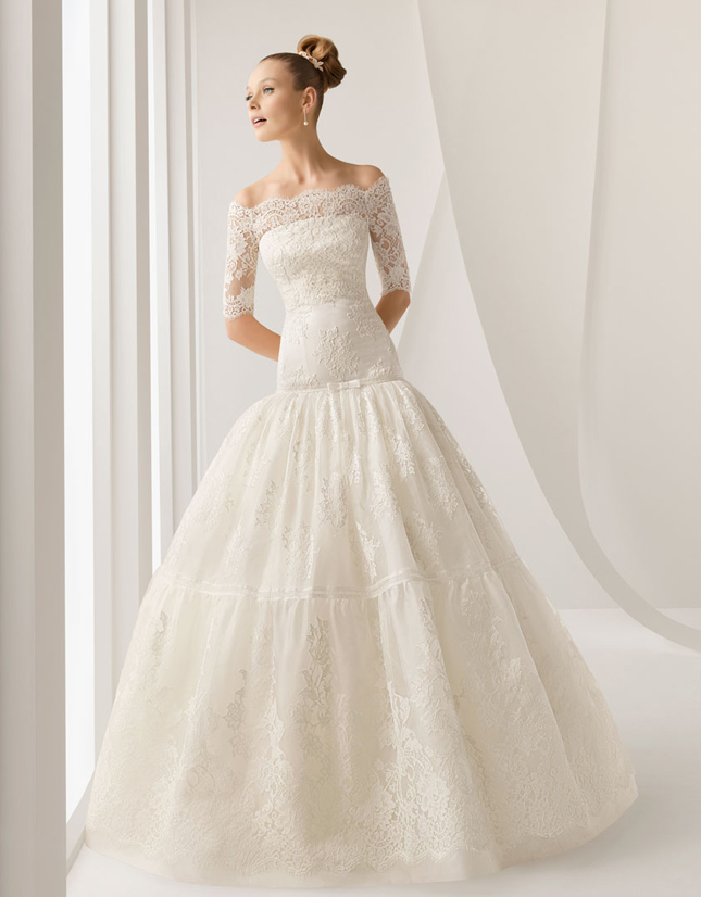 Princess Cut Wedding Dress