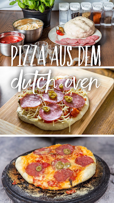 Outdoor Kitchen 03 | Pizza aus dem Dutch Oven | Rezept Outdoor-Pizza | Pizza beim Camping