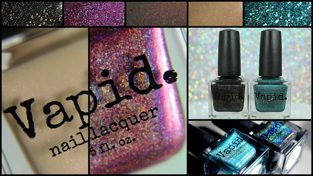 Vapid Lacquer | Dirty Holos, Shimmers, Flakes...Oh My!