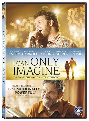 I Can Only Imagine 2018 Dvd