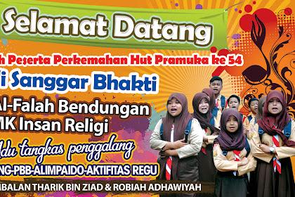 20+ Latest Banner Pramuka Selamat Datang