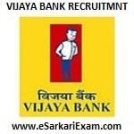 Vijaya Bank Asst Manager Credit Recruitment
