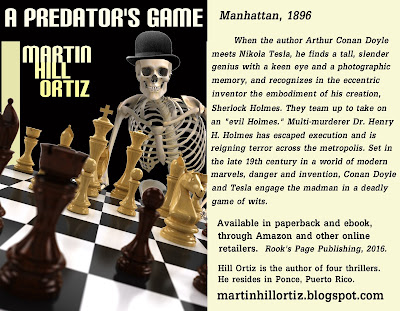 A Predator's Game by Martin Hill Ortiz