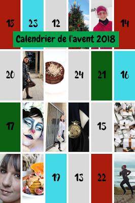 Le calendrier de l'avent de blogueuses du blog Serenamente
