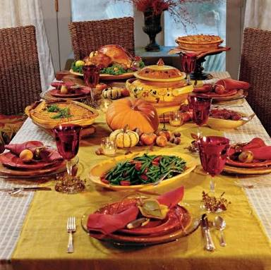 Thanksgiving Day 2017 Dinner Table Ideas