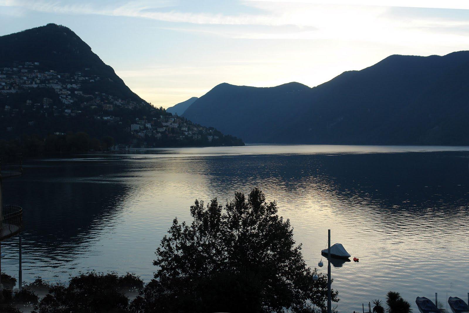 Lugano Lake Italy View World Beauty